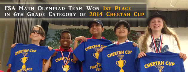 Fulton Science Academy 2014 Cheetah Cup