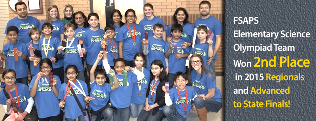 Fulton Science Academy Elementary Science Olympiad Picture