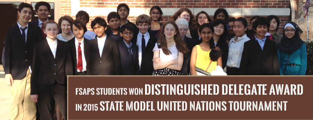 Fulton Science Academy State Model UN