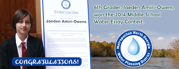 Fulton Science Academy water essay
