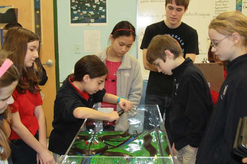 fulton science academy stormwater simulation2